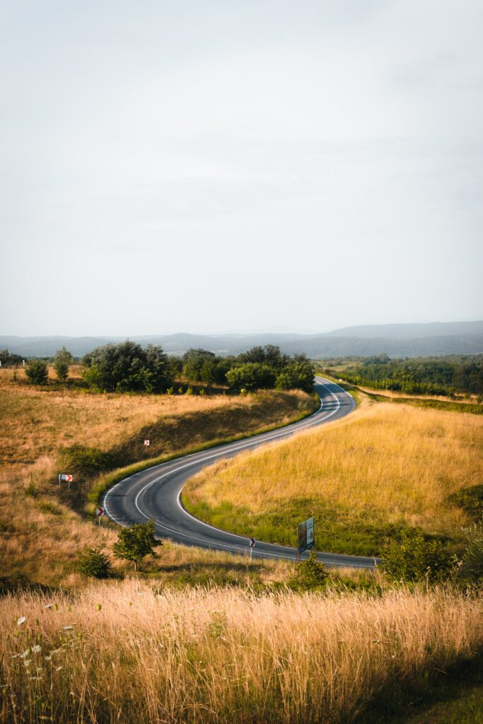 Our goal setting journey looks like a meandering path not a straight one.