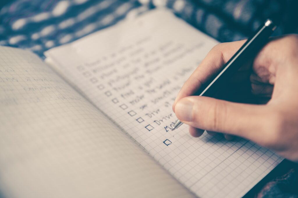 Too many items on the To-Do list leads to distraction derailment and not achieving your big picture goals.